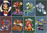 Daily Rockman - Rockman 5 Robot Masters