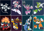 Daily Rockman - Rockman 9 Robot Masters
