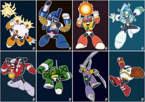 Daily Rockman - Rockman 10 Robot Masters by IanDimas
