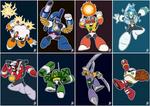 Daily Rockman - Rockman 10 Robot Masters