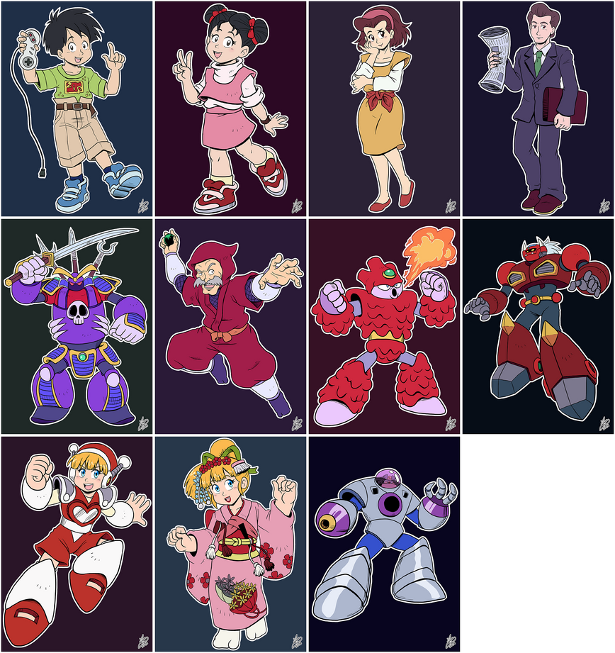 Daily Rockman - OVAs by IanDimas