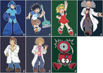 Daily Rockman - Rockman 11 Characters