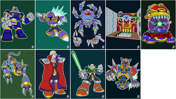 Daily Rockman - X1 Bosses