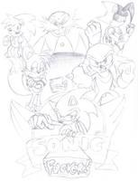 Sonic Fucker Poster by IanDimas