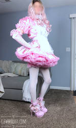 Miss Pansy Bouffant Sissy Dress by CleverSissy
