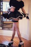 Ceri Micro French Maid Sissy Dress