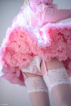 Miss Pansy Bouffant Sissy Dress