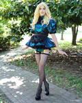 Kari Micro French Maid Sissy Dress