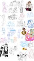 final fantasy - sketchdump