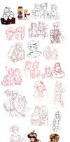final fantasy - sketchdump 2