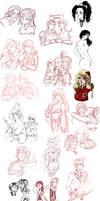 final fantasy - sketchdump 3