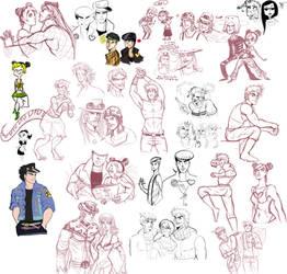 jojo - sketchdump by spoonybards