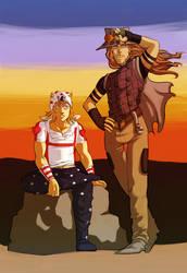 jojo - gyro and johnny