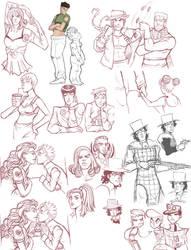 jojo - sketchdump 3 by spoonybards