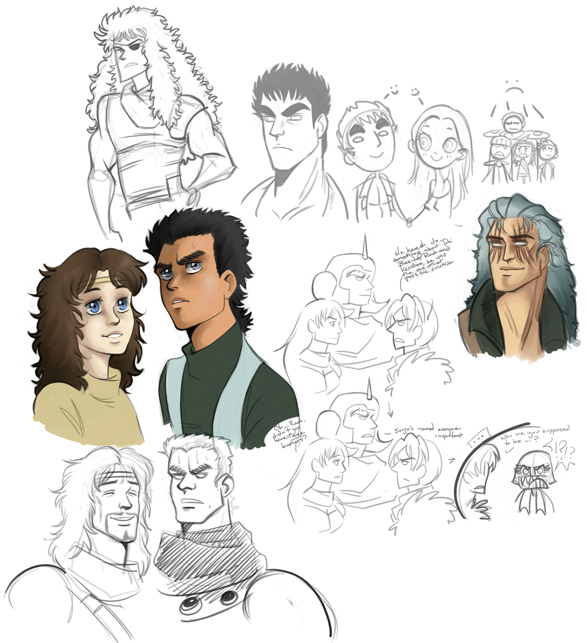Fist Of The Northstar-doodles3 By Spoonybards On DeviantArt