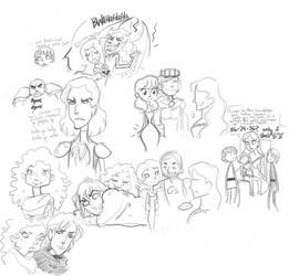 asoiaf - doodles