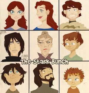 asoiaf - the stark bunch