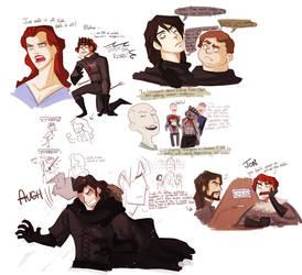 asoiaf - doodles2
