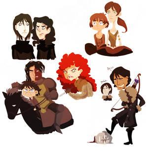 asoiaf - doodles 3