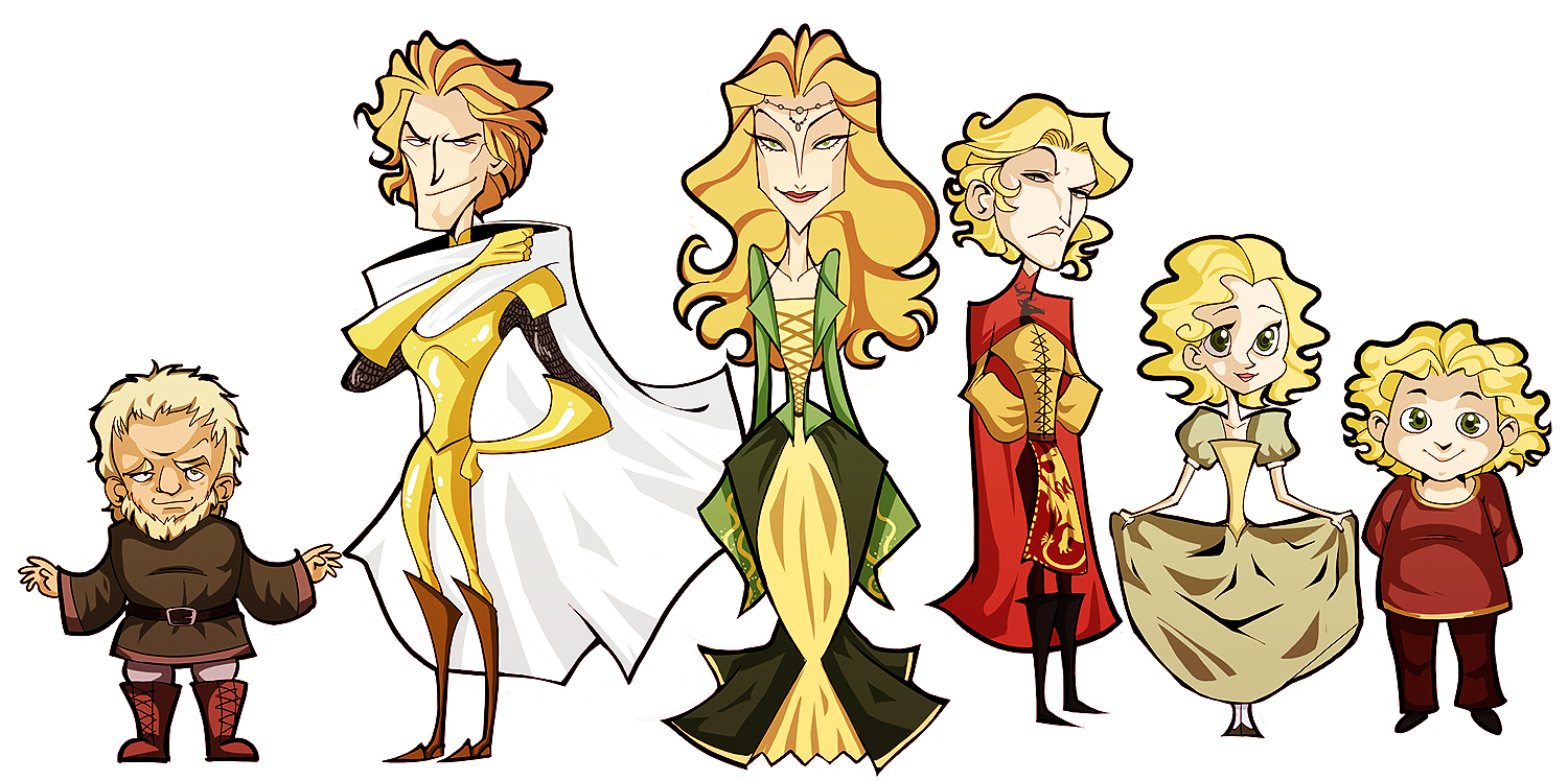 asoiaf - lannisters