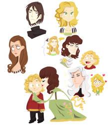 asoiaf - doodles 4