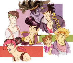 jojo's bizarre adventure - sketches