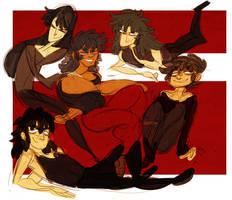 saint seiya - black saints