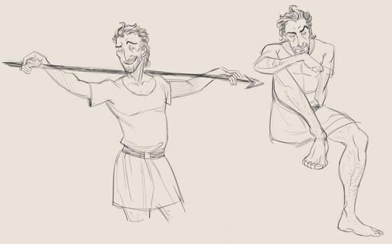 odysseus sketches