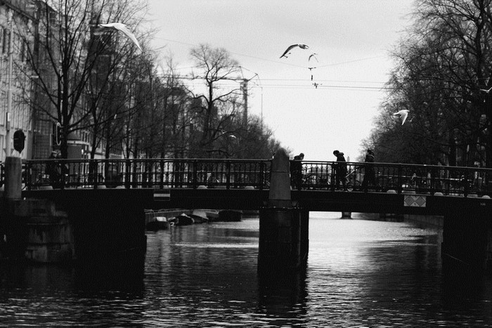 Bridge over troubled water by thedaydreaminggirl