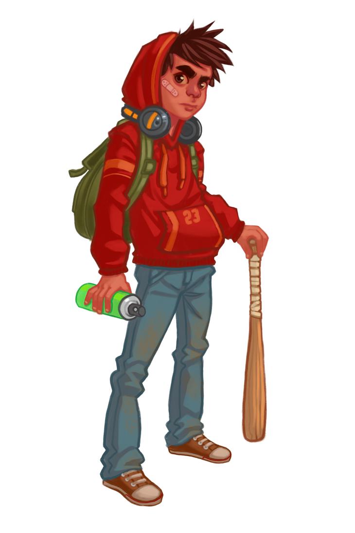 Character Sketch by Cloud-Yo