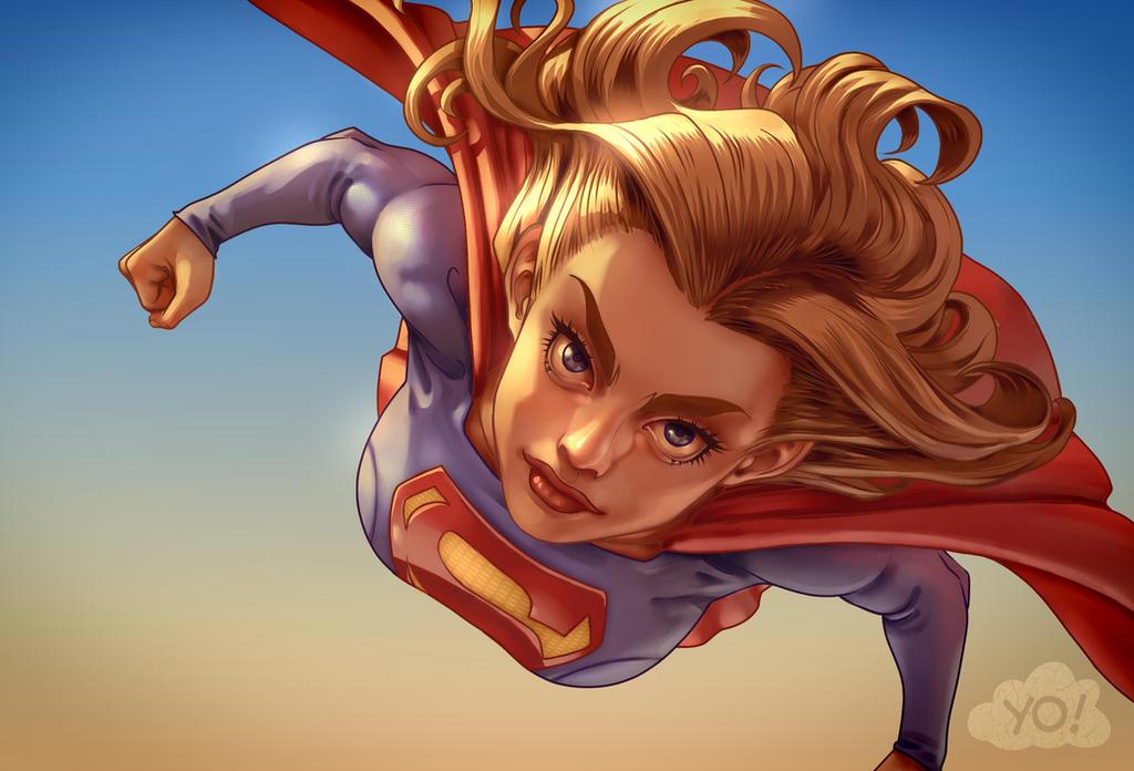 SuperGirl! by Cloud-Yo