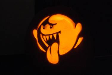 Halloween 2009 Pumpkin Boo