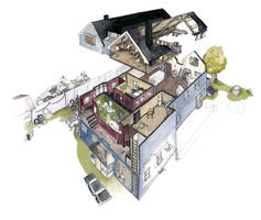 Bobby Singer's house by lamapan