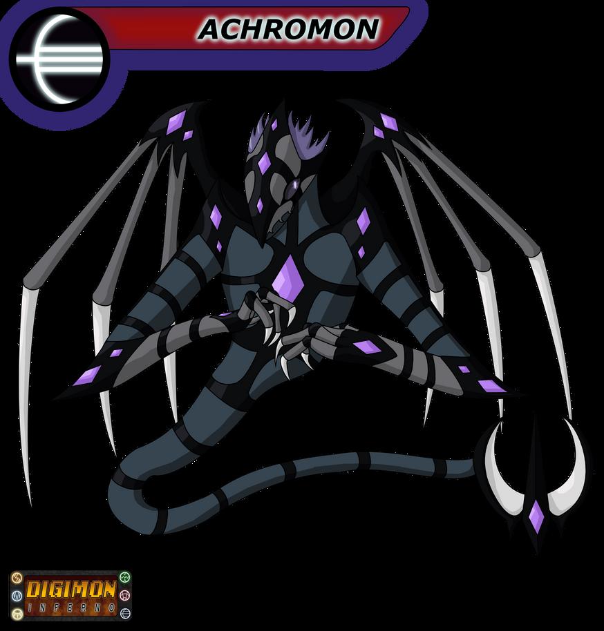 Digimon Inferno: Achromon by BlackHawkNova