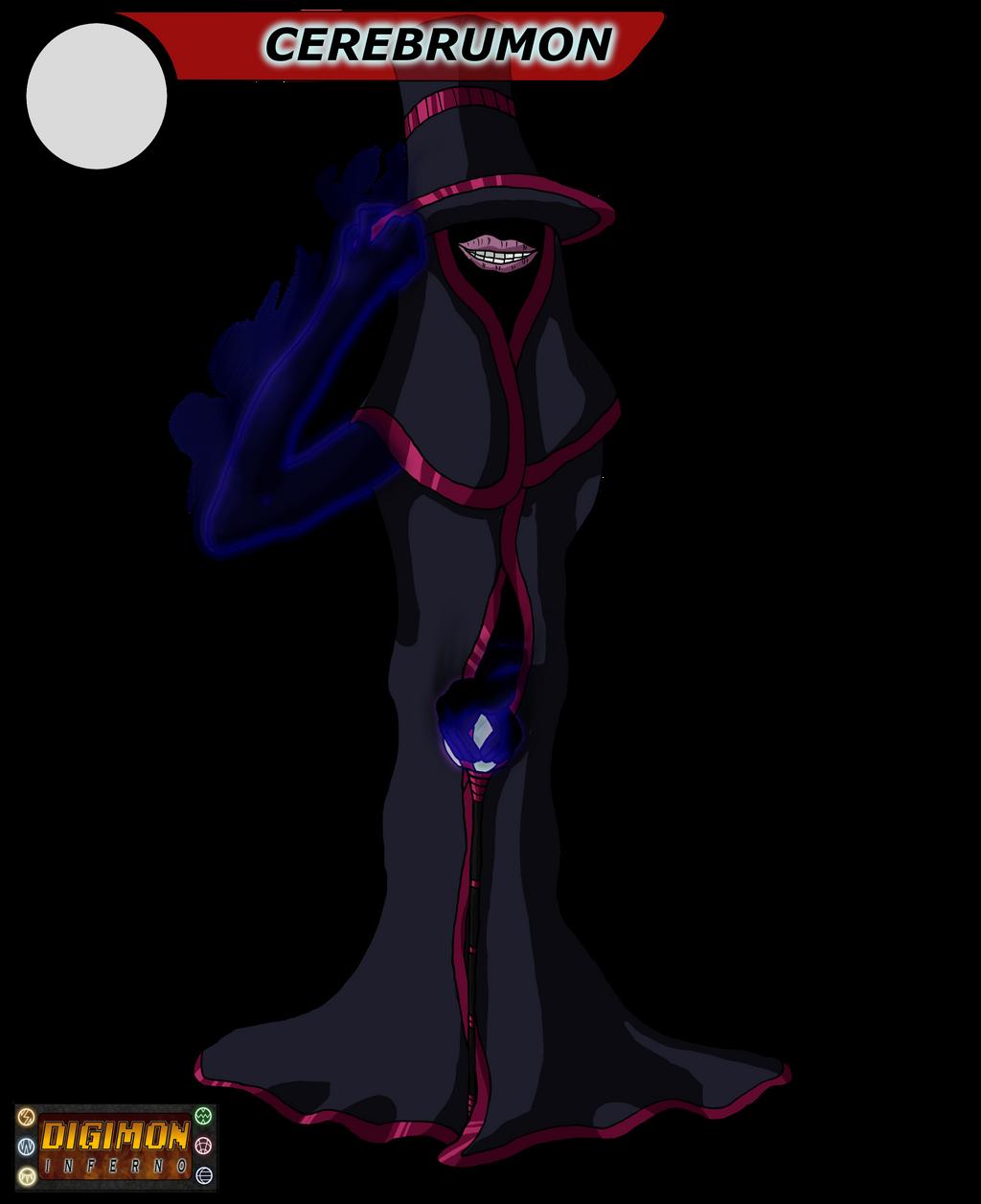 Digimon Inferno: Cerebrumon by BlackHawkNova