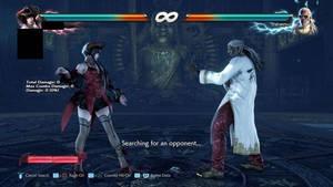 Akuma VS Heihachi Dojo Warm Up Stage
