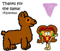Thanks for the llama!! by PZfan9213