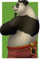 WoW - Handsome Pandaren - Ji FirePaw by AzaraLunatica