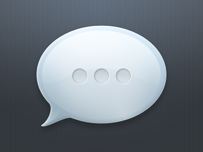 iMessage Concept by xeloader