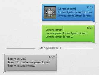 Texting Interface by xeloader