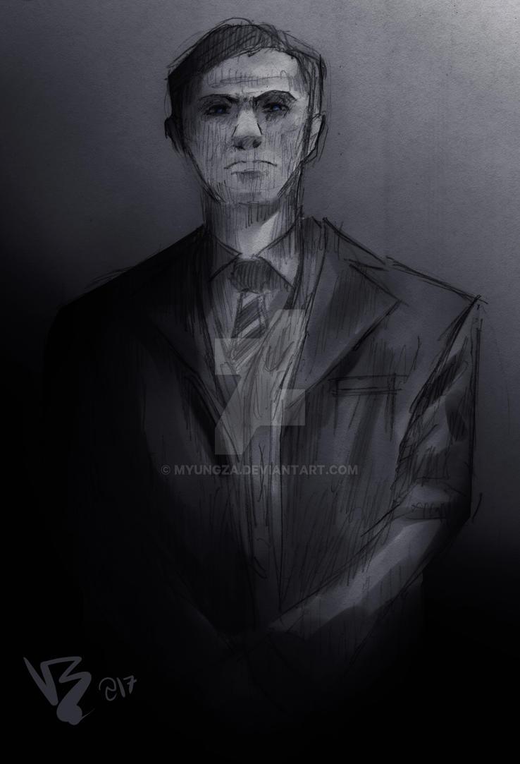 Mycroft Holmes by Myungza