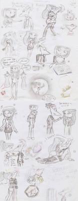 Scketches Phinbella 3
