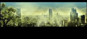 Nuclear summer. Apocalypse