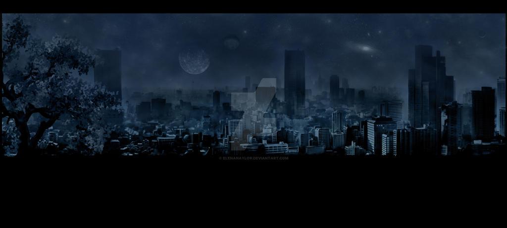 Night summer. Apocalypse by LadyElenaNaylor