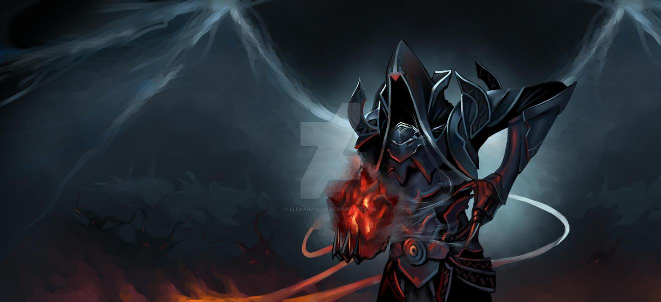 Malthael, reaping Diablo's black Soulstone by ElenaNaylor
