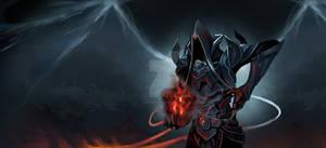 Malthael, reaping Diablo's black Soulstone