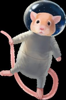 Mouse Astronaut