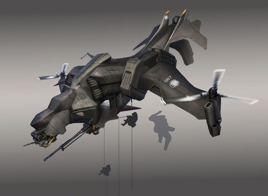 Gunship by StTheo