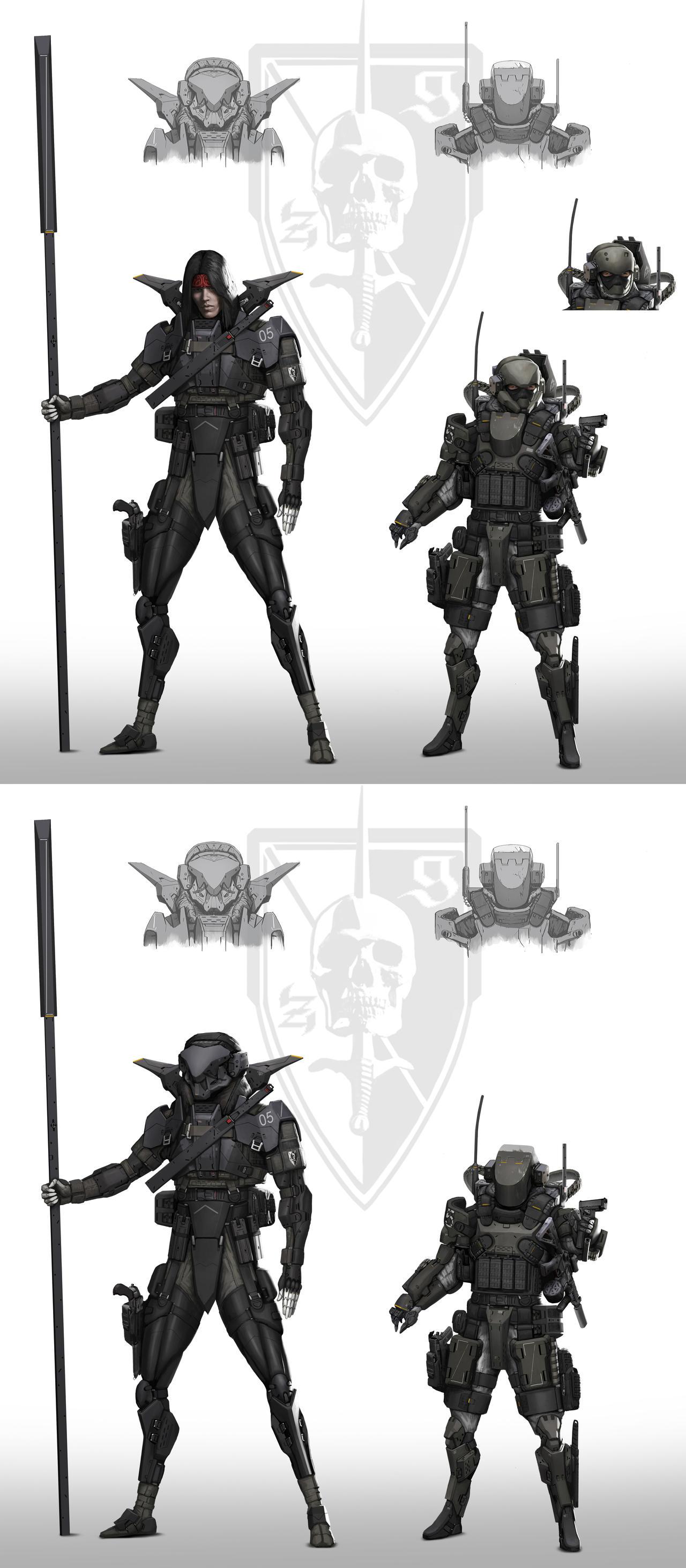 Zero/Gunner by StTheo