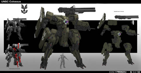 Halo Colossus by StTheo
